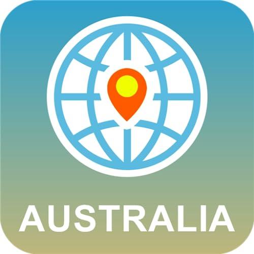 Australien Karte online
