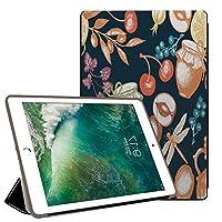 PRINDIY iPad 2017/iPad 2018//iPad タブレットケース, 高級PU 三つ折りブラケット キズ防止 保護ショックプルーフ 落下抵抗 三つ折りブラケット タブレットケース iPad 2018/2017/iPad Case-G 105