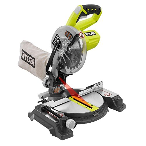 Ryobi 18-Volt ONE+ 7-1/4 in. Cordless Miter Saw - P551 (Tool...