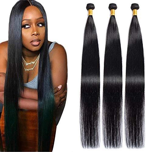 Japan's largest assortment Maxine Cheap mail order sales Brazilian Long Silky Straight Bundles Hair Virgin 3 Human