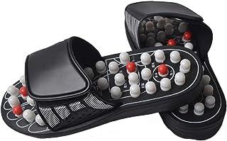 Placextre Massage Shoes, ACU-Point Slippers Accupressure Massage Foot Massager Flip Flop Sandals for Women Men