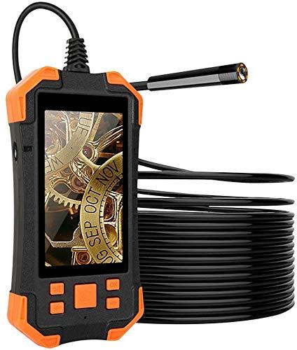 YUKM 5M 1080P HD Digital-Endoskop-Kamera LCD 4Cm-5M Fokuslänge Schlangenförmige 3000Mah-Videoinspektionskamera Mit 6 LEDs