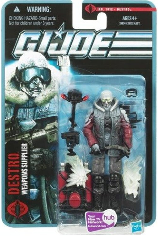 G.I. Joe Arctic Destro - Weapons Supplier - The Pursuit of Cobra - Actionfigur von Hasbro B003QEBYZC Heißer Verkauf  | Klein und fein