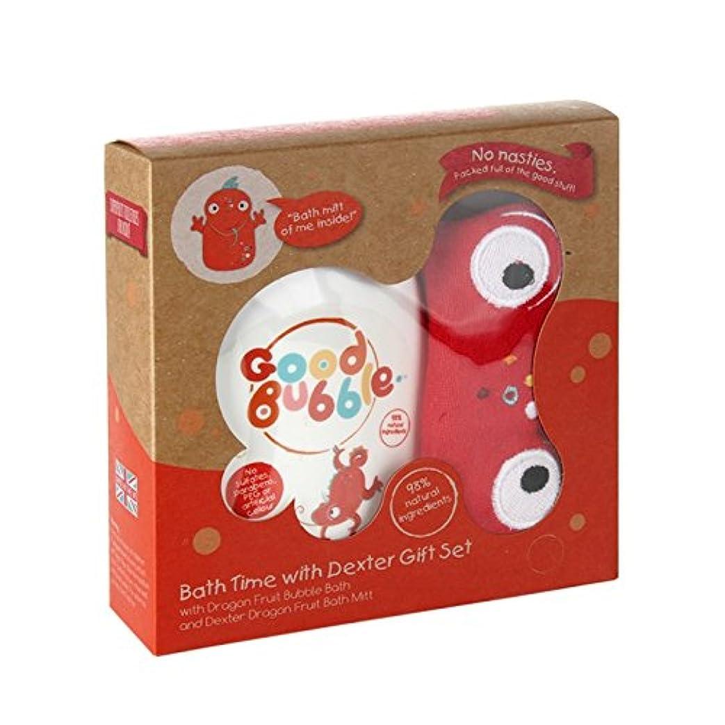 入浴許可する虐殺Good Bubble Dexter Dragonfruit Gift Set 550g (Pack of 6) - 良いバブルデクスターDragonfruitギフトセット550グラム (x6) [並行輸入品]