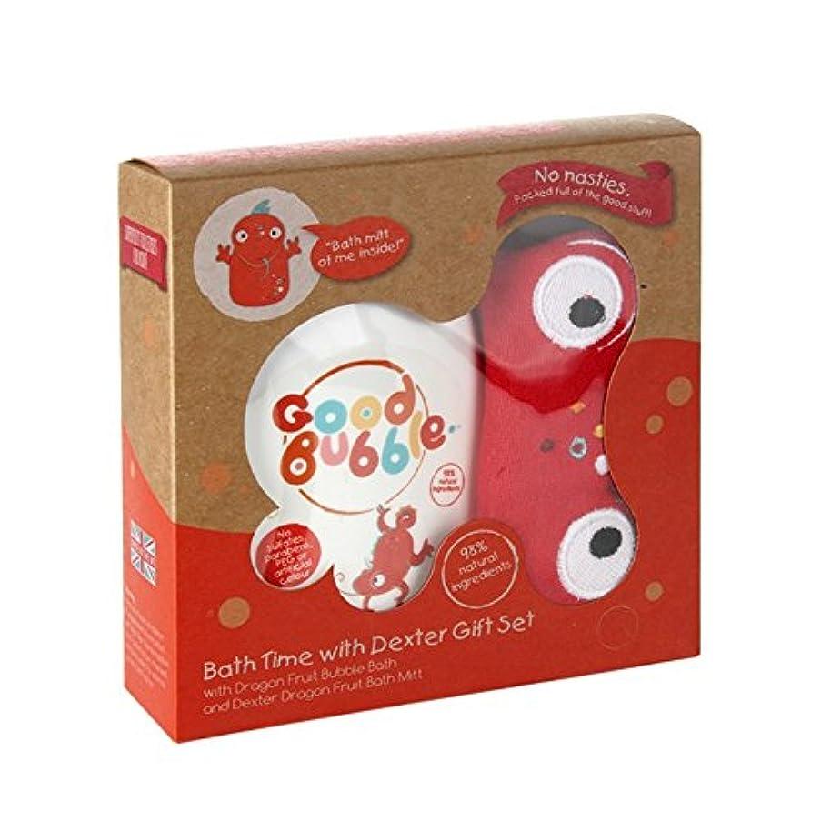 マトロン医薬テレビ局Good Bubble Dexter Dragonfruit Gift Set 550g (Pack of 2) - 良いバブルデクスターDragonfruitギフトセット550グラム (x2) [並行輸入品]