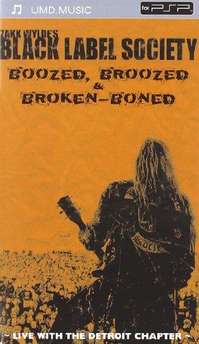 Zakk Wylde's Black Label Society - Boozed, Broozed & Broken-Boned [Reino Unido] [UMD Mini para PSP]