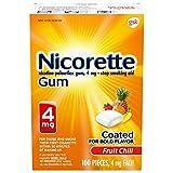 Nicorette 4 mg Nicotine Gum to Help Quit...