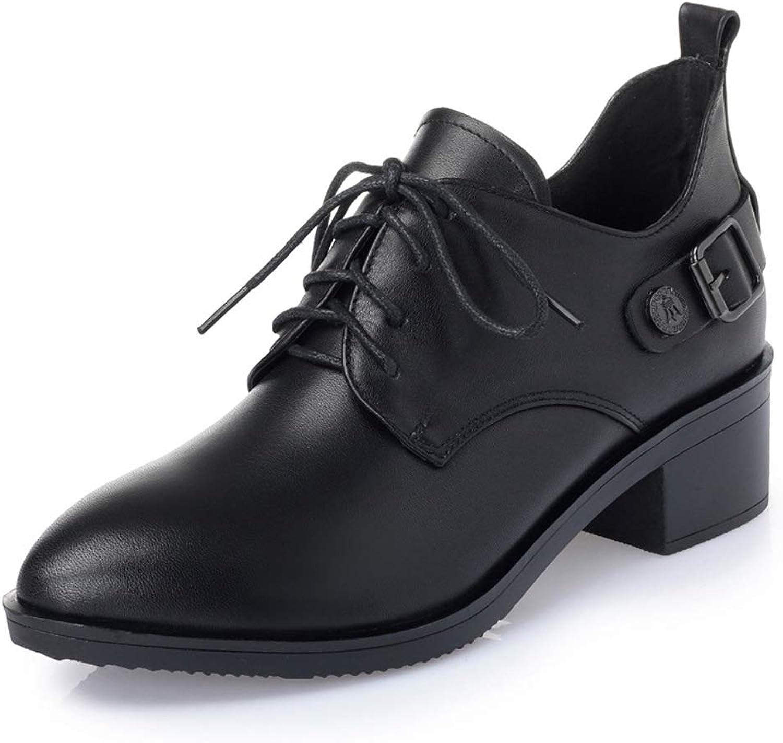Frauen Casual Martin Schuhe Stiefeletten Chelsea Stiefel Wasserdichte Pumps Arbeitsschuhe Schnüren High Heels Mary Jane Stiefelies