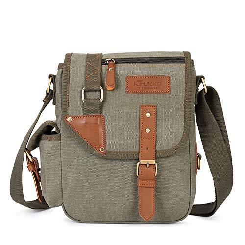 One shoulder bag men's business Messenger Handbag leisure mobile phone bag canvas bag