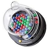 TOYANDONA 1 Juego de Máquina de Loteria Eléctrica Máquina de Loteria Mesa Juegos de Bingo Fiesta Mini Juego de Lotto Máquina de Agitar Juego de Mesa