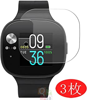 【3 Pack】 Synvy Screen Protector for ASUS VivoWatch BP HC-A04 TPU Flexible HD Film Protective Protectors [Not Tempered Glass] Updated Version