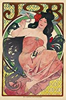 Alphonse Mucha ジクレープリント キャンバス 印刷 複製画 絵画 ポスター (ジョブ)