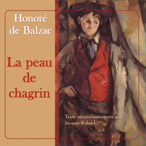 La peau de chagrin audiobook cover art