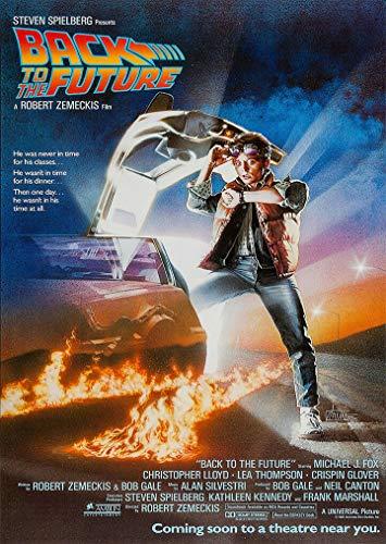 'perfect posters' Affiche du film Retour vers le futur Format A4
