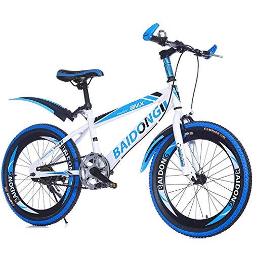 YANGHAO-Bicicleta de montaña para adultos- Bicicleta de montaña variable de 22 pulgadas de bicicleta de 22 pulgadas, silla cómoda, pedal antideslizante, freno seguro y sensible, bicicleta portátil est
