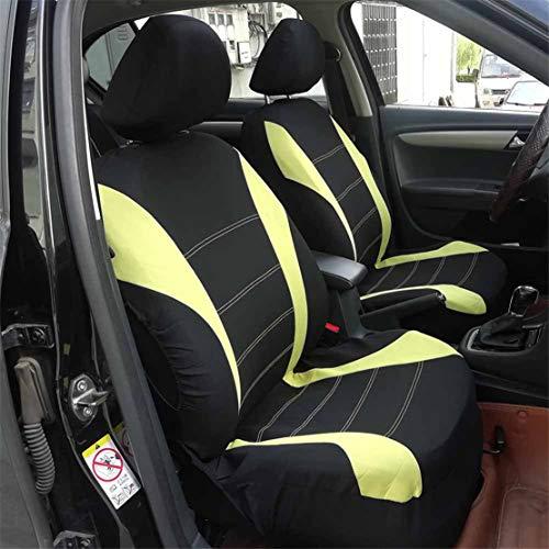 Fundas para asientos amarillo delantero kos hyundai i20