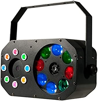 American DJ Stinger Gobo LED Moonflower, Color Wash and Red/Green Lasers
