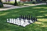 XHH Juego de ajedrez de jardín con tapete de Tablero de ajedrez de Nailon Desarrollo de reuniones Familiares de Entretenimiento Intelectual