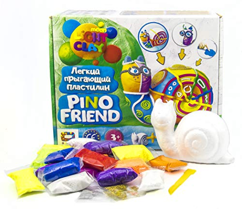 Plastilina modelada 70037 Soft Knete Pino Friend Railly juguete para niños, idea de regalo, adecuado para niñas y niños mayores de 3 años