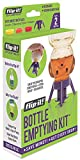 Flip-It Bottle Emptying Kit - Get Every Last Drop Out of Honey, Condiments & Beauty Products with Flip-It - BPA Free -...