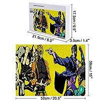 ジョジョパズル 子供 ジグソーパズル 木製パズル 知育玩具 最高のギフトの選択 レジャー エンターテイメントパズルグッズ 300/500/1000ピ