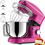Facelle Stand Mixer, 660W 6-Speed Tilt-Head Food Mixers Kitchen Electric Stand Mixer with...