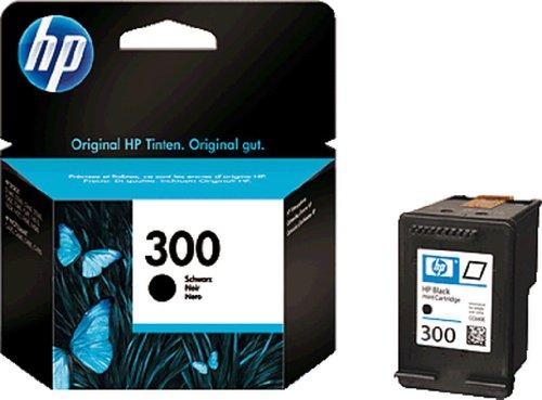 HP Cartucho de tinta 300 Vivera/CC640EE Negro Deskjet D2560