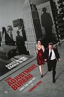 Best adjustment bureau movie poster Reviews