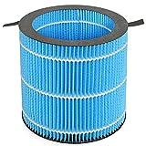 ERGO LIFE Purificador de aire y humidificador 2 en 1, cortin
