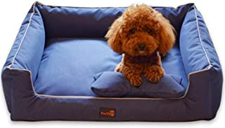 EMAPRUI Basics Rectangular Water-Resistant Bed Dog Bed,Super Comfort Large Dog Bed Lounge Sofa with Removable Washable Cover