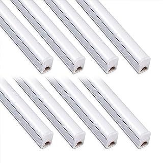 (Pack of 8) Kihung Under Cabinet Light 2ft,10W,1100lm,6500K (Super Bright White),Utility led Shop Light, LED Ceiling Light...