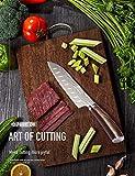 Joyspot Japanisches Santoku Messer, 7 inch Kochmesser Profi Messer Deutsche Karbon-Edelstahlmesser Extra Scharfe Messerklinge mit Ergonomischer Griff, Beste für Home Kitchen … - 9