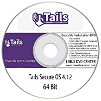 Tails Linux Secure OS 4.12 Live (64Bit) - Bootable Linux Installation DVD