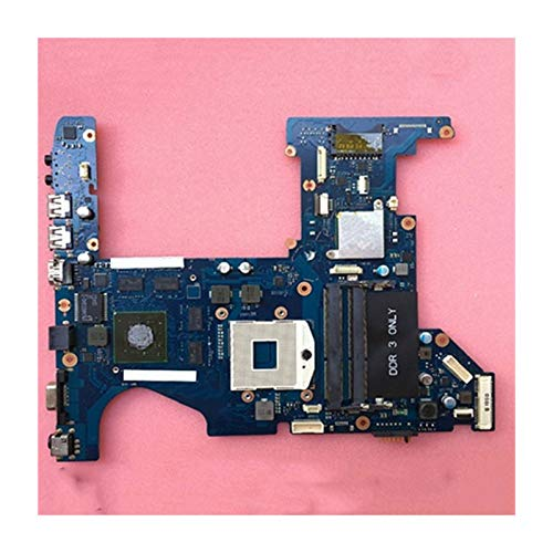 YLYWCG Tablero de reemplazo de computadora Cuaderno Plático Placa Placer Fit For Samsung RF510 Placa Madre Portátil HM55 DDR3 GPU GT330M 1GB Placa Base de computadora de Escritorio