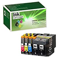 Limeink 5 Pack Remanufactured LC20E Super High Yield Ink Cartridges Compatible with MFC-J5920DW Series Printers LC20EBK LC20EM LC20EC XXL LC20EY (2 Black 1 Cyan 1 Magenta 1 Yellow) [並行輸入品]