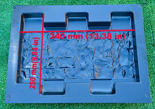 Betonex F10 Form für Beton-Dekoration, Zaun-Säule und Säulen, Blumengarten