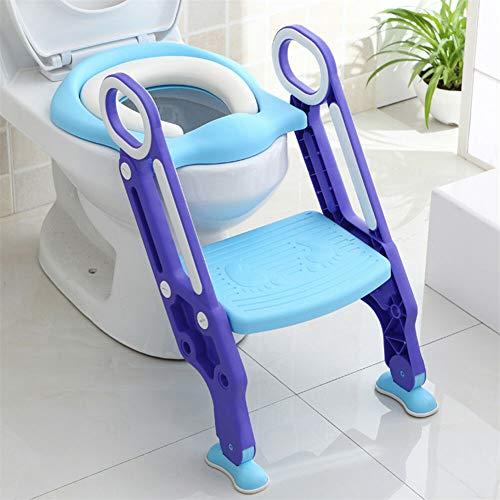 3 in 1 Töpfchentrainer Toiletten-Trainer Kinder Töpfchen mit Treppe Kindertoilette WC Sitz Lerntöpfchen Toiletten