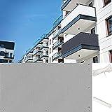 COOYT Balkon Schutz Balkonsichtschutz Balkonbespannung Balkon Terrasse Bespannung Balkonverkleidung für Veranda Deck, Hinterhof, Terrasse, Balkon, UV-Schutz, Wetterbeständig