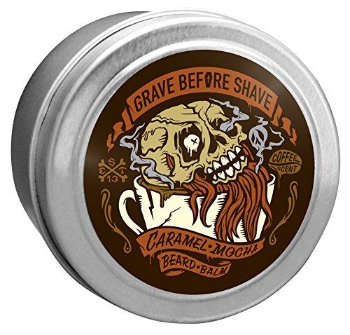 Grave Before Shave Baume avant rasage Parfum café caramel mocha