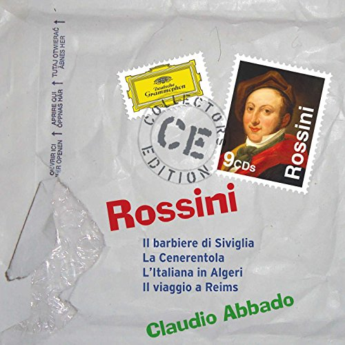 Rossini: Il barbiere di Siviglia; La Cenerentola; L'Italiana in Algeri; Il viaggio a Reims
