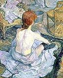 Kunstdruck/Poster: Henri de Toulouse-Lautrec La Toilette -