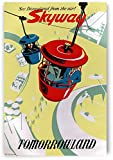 AZSTEEL Skyway Tomorrowland | Poster No Frame Board for