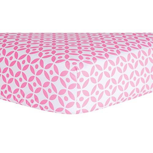 Trend Lab Gitter Bettlaken für Babybett, Lily