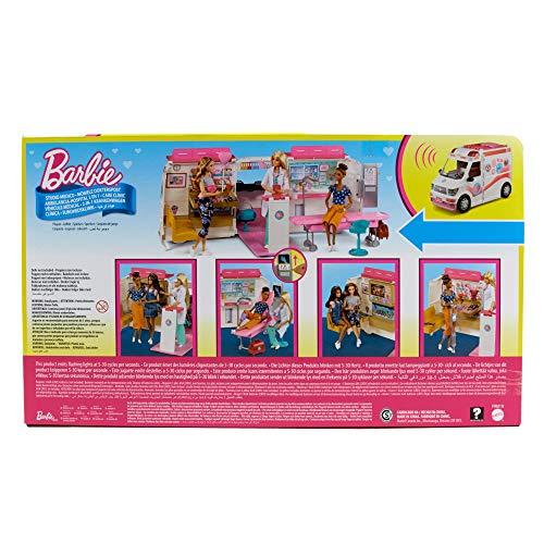 Ambulance de Secours Clinique Soins Médical Barbie - 8