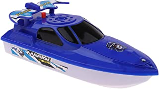 HOMYL Battery Operated Yacht Toy in Bathtub Bathroom Pool Bath Time for Boys Girls