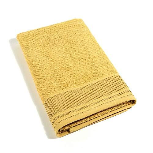 Caleffi Toalla de rizo Gim dorada de algodón – 76377