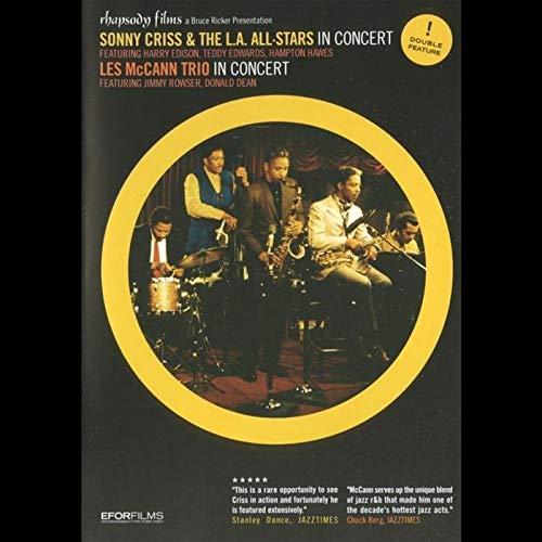 Sonny Criss & Les Mccann In Concert [DVD] [Import]