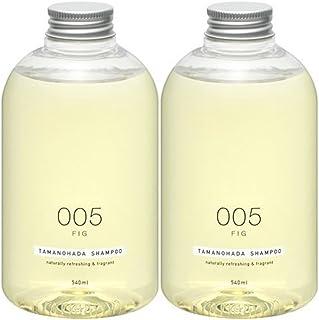 Tamanohada 玉肌 无硅油洗发水套装 005无花果香540ml*2(日本品牌)