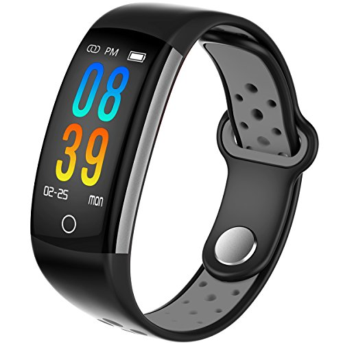 IP68 Fitness Tracker Blood Pressure Heat Rate Monitor Smart Watch Blood Oxygen Sleep Monitor Activity Tracker Pedometer Watch for Women Men Kids