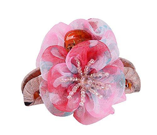 Floral pince cheveux de Belle / pince cheveux, Rose